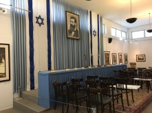 Israel's Independence Hall in Tel Aviv, restored in 1978 to the way it was set up on May 14, 1948.